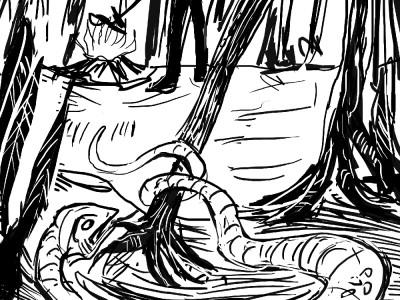 wąż i ogon