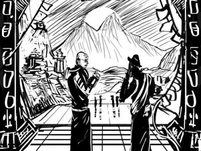 Zrzędzący mnich