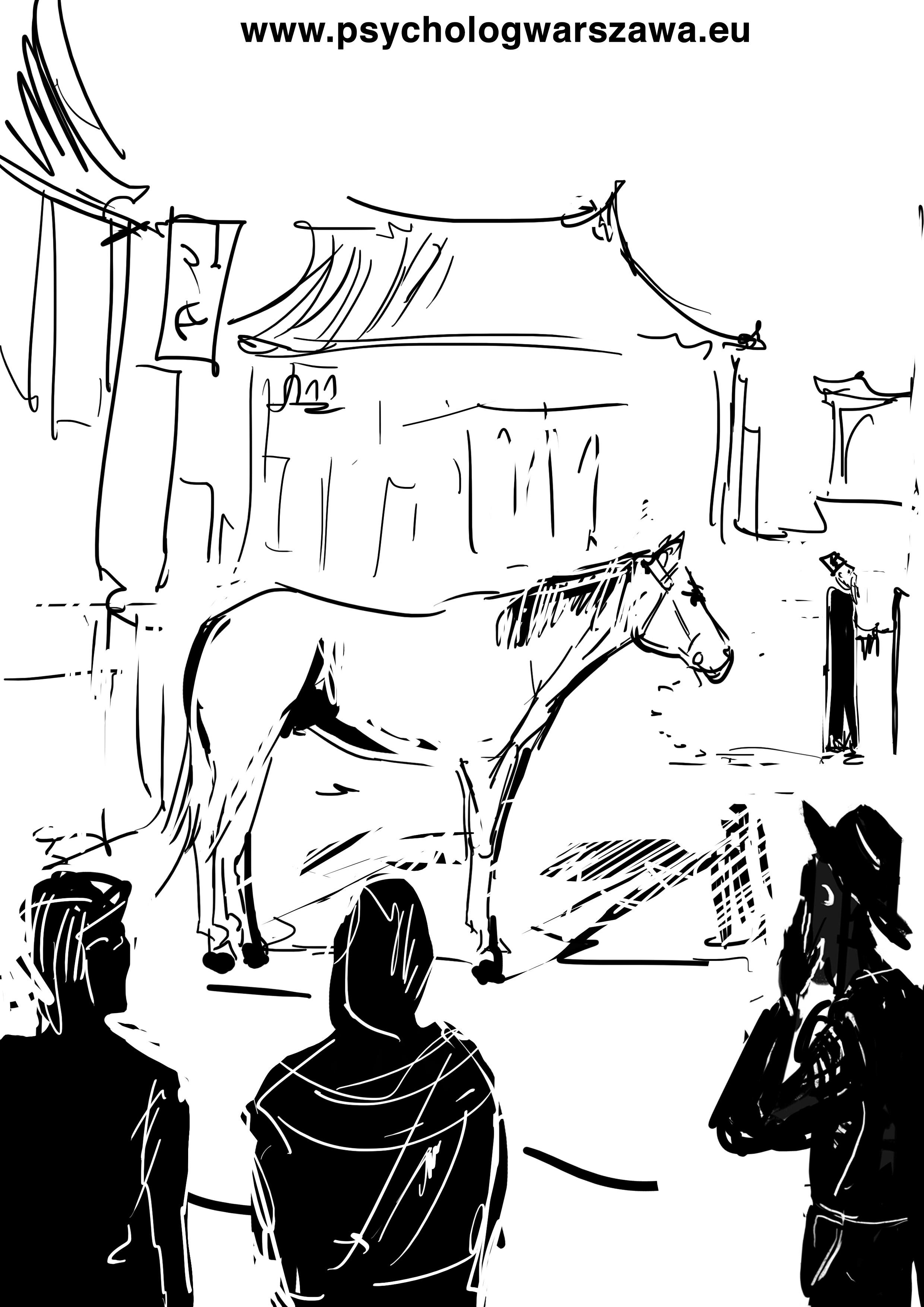 kon i starzec